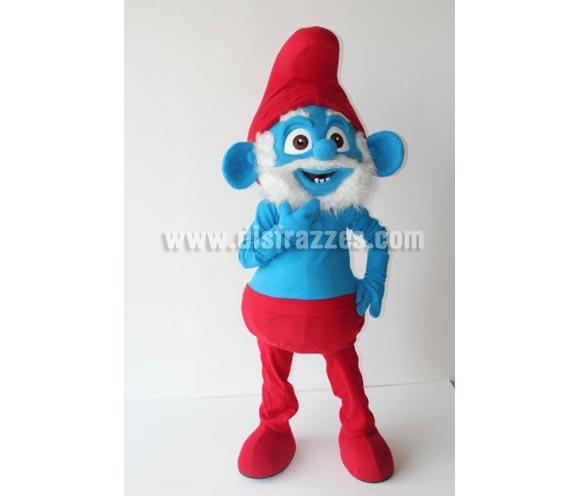 Disfraz o Mascota Publicitaria Papá Duende azul