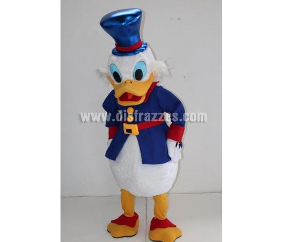 Disfraz o Mascota Publicitaria Pato con sombrero. Talla Universal adultos. Tiempo de entrega 2-3 días, dependiendo de si tenemos en stock. Los portes de éstas mascotas es de 30 € dado el volumen que tiene el paquete.