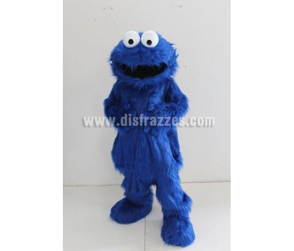 Disfraz o Mascota Publicitaria Monstruo azul