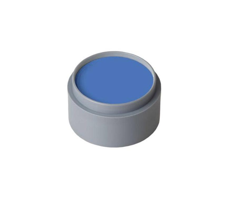 Maquillaje al agua (water make-up 303), de 15 ml. Color azul. -Fácil de usar, (como acuarelas).  -Se quita con agua y jabón. -Antialérgico.