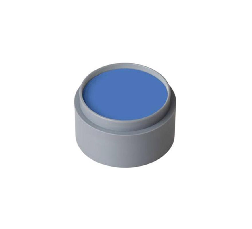 Maquillaje al agua (water make-up 303), de 15 ml. Color azul. -Fácil de usar (como acuarelas). -Se quita con agua y jabón. -Antialérgico.