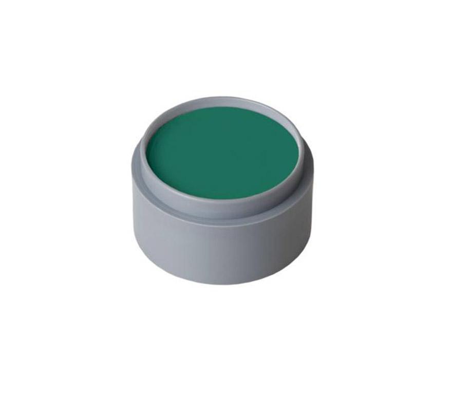Maquillaje al agua (water make-up 401), de 15 ml. Color verde. -Fácil de usar (como acuarelas). -Se quita con agua y jabón. -Antialérgico.
