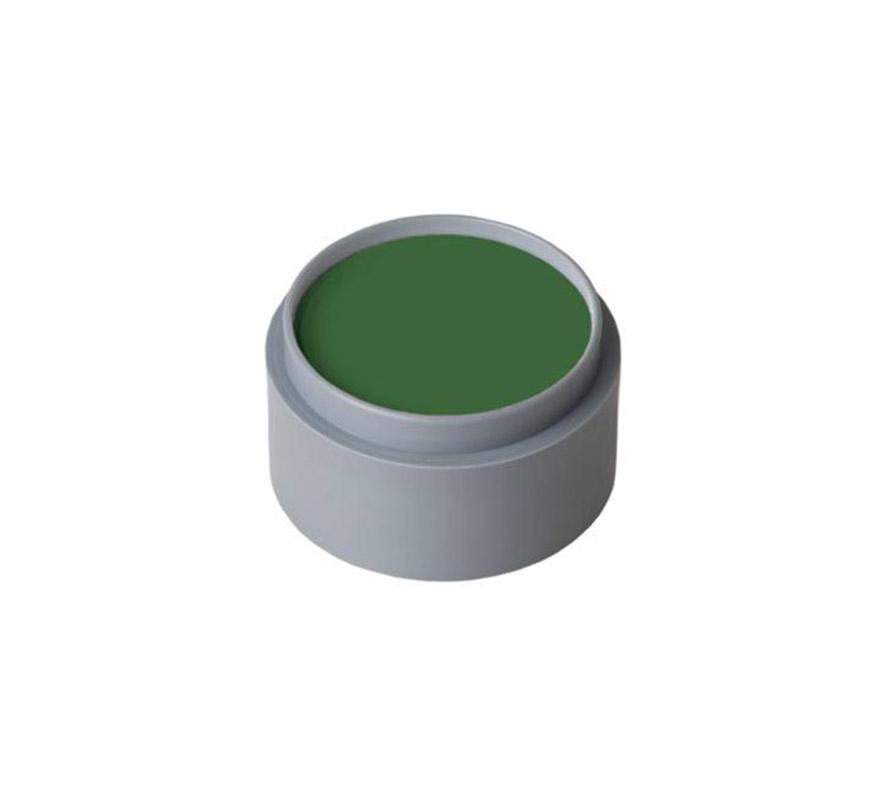 Maquillaje al agua (water make-up 403), de 15 ml. Color verde cesped. -Fácil de usar (como acuarelas). -Se quita con agua y jabón. -Antialérgico.