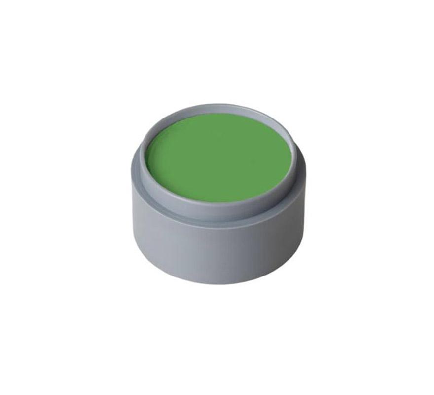 Maquillaje al agua (water make-up 407), de 15 ml. Color verde vivo. -Fácil de usar (como acuarelas). -Se quita con agua y jabón. -Antialérgico.