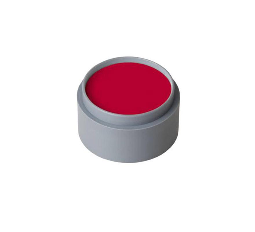 Maquillaje al agua (water makr-up 505), de 15 ml. Color rojo profundo. -Fácil de usar (como acuarelas). -Se quita con agua y jabón. -Antialérgico.