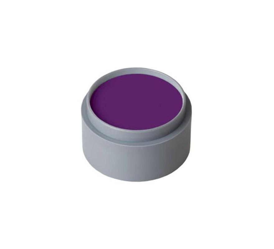 Maquillaje al agua (water make-up 601), de 15 ml. Color púrpura. -Fácil de usar, (como acuarelas).  -Se quita con agua y jabón. -Antialérgico.
