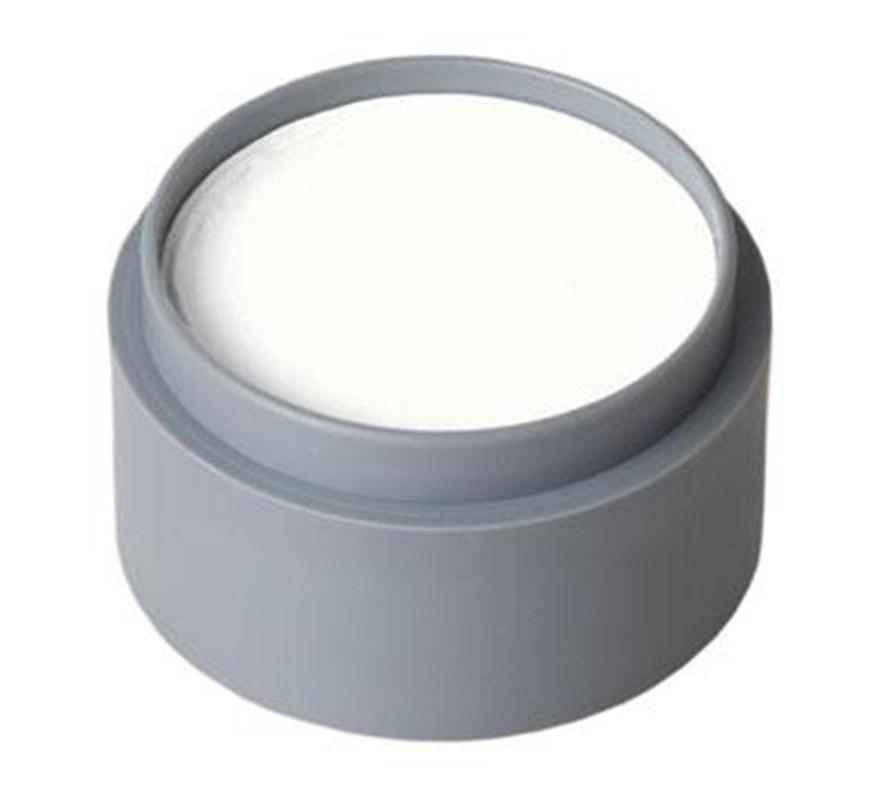 Maquillaje al agua de color blanco (water make-up 001). Envase de 60 ml. Descripción del producto y disponibilidad Maquillaje con base de Aqua es un maquillaje sin gluten y sin fragancia. Este producto se utiliza para pintar la cara y el cuerpo. Water Make-up (Pure) está disponible en paletas de 6,12 ó 24 tazas de 2,5 ml. Los colores también se venden por separado en cajas de 15, 25 y 60 ml.