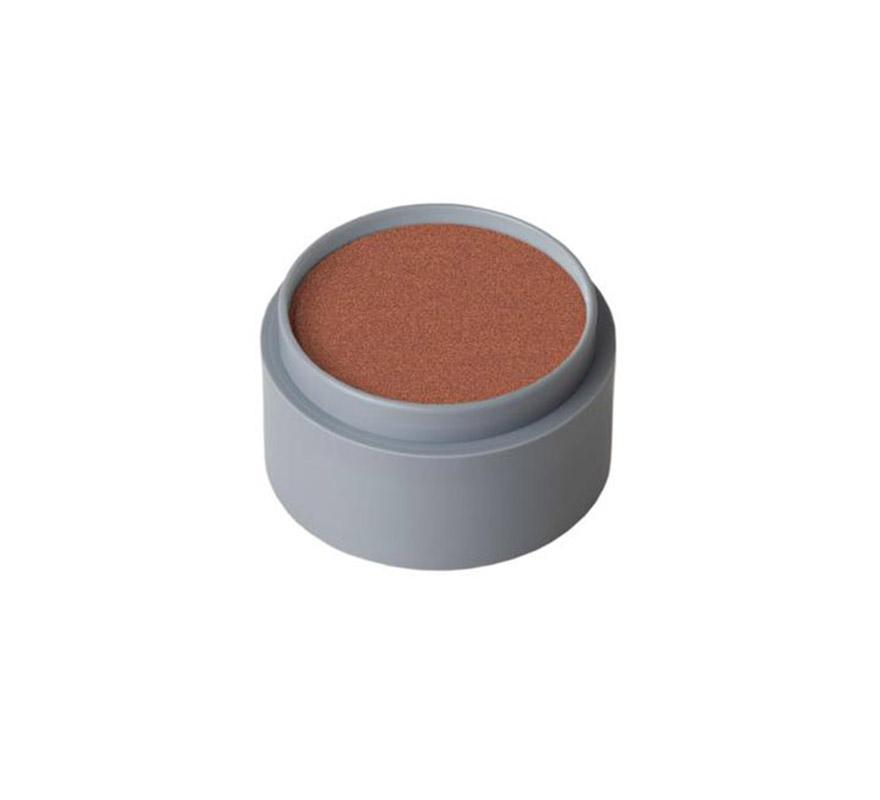 Maquillaje al agua (water make-up 703), de 15 ml. Color cobre perlado. -Fácil de usar, (como acuarelas). -Se quita con agua y jabón. -Antialérgico.