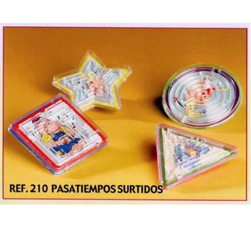 Bolsa de 24 uds. de Pasatiempos surtidos para Carrozas. También sirve como relleno de Piñatas para los Cumpleaños.