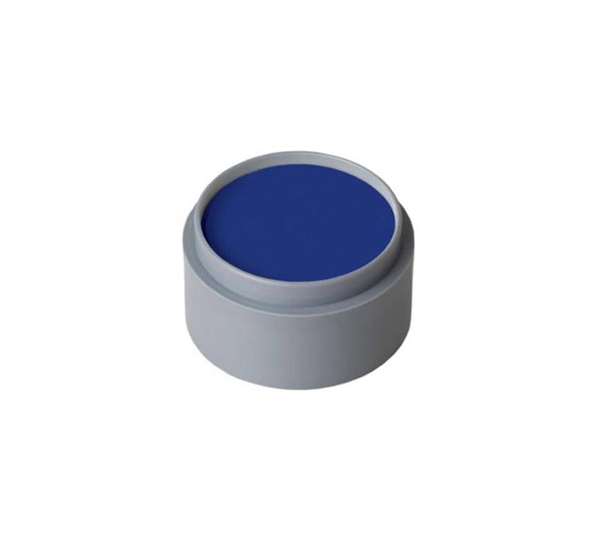 Maquillaje en crema (cremè make-up 301), de 15 ml, de color azul oscuro.  Fácil de usar, se quita con agua y jabón, antialérgico.