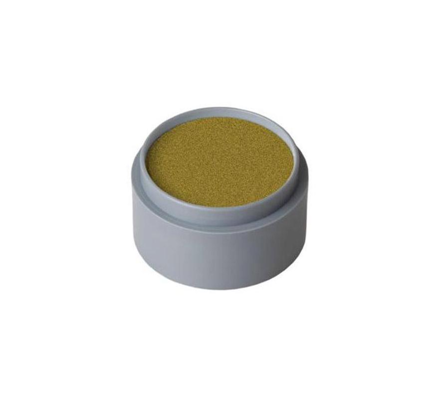 Maquillaje en crema (cremè make-up 702), de 15 ml, de color oro perlado.  Fácil de usar, se quita con agua y jabón, antialérgico.