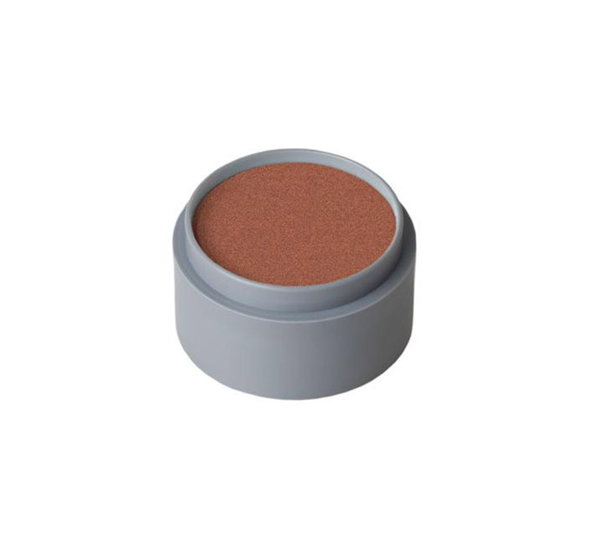 Maquillaje en crema (cremè make-up 703), de 15 ml, de color cobre perlado.  Fácil de usar, se quita con agua y jabón, antialérgico.