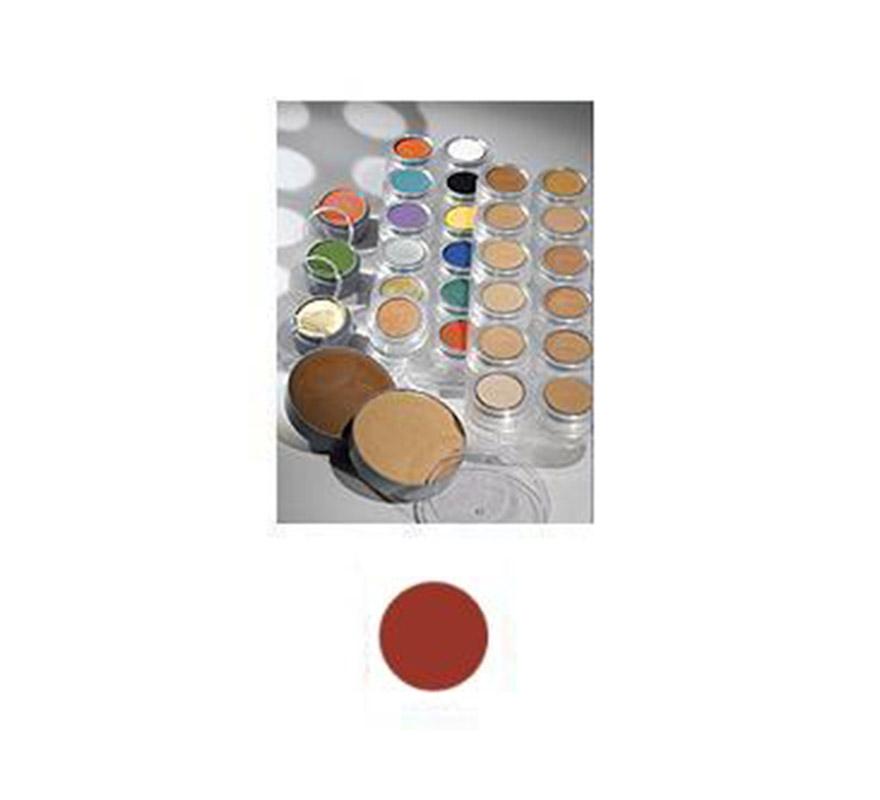 Maquillaje de Crema (cremè make-up 1075) de color rojizo. Envase de 60 ml. Descripción del producto y disponibilidad Crème Make-up (Pure)* es un maquillaje con base de aceites y ceras y tiene muy buenas capacidades de cobertura. Se utiliza para camuflaje cosmético y maquillaje teatral. Crème Make-up (Pure) está disponible en paletas de 6 y 12 piezas, tambien de manera individual en empaques de 2,5, 15 y 60 ml. * Muchos de los productos (Water Make-up, Camouflage Make-up, etc.) utilizan la palabra -Pure- en sus nombres. Esto significa que el producto en cuestión no contiene conservantes químicos (como paraben) o componentes orgánicos halogenados. Los productos -Pure-, así como los demás productos, no contienen gluten ni fragancia. Maquillaje ideal para caracterizarte en Carnaval, en Halloween o en cualquier fecha del año que tengas ocasión para ir de Fiesta a Pubs, Discotecas, Casas particulares, Restaurantes o Colegios y ayudar a crear un ambiente Festivo propio de la Fiesta a la que acudas. ¡¡Compra el maquillaje para tu disfraz de Carnaval o de Halloween en nuestra tienda de disfraces, será divertido!!