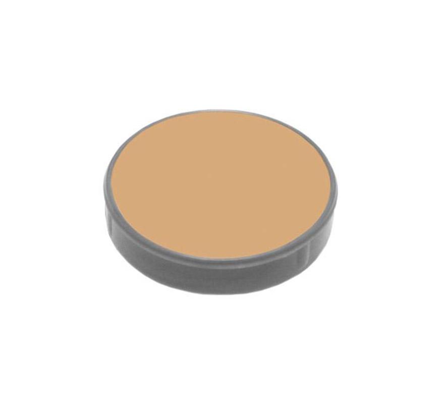 Maquillaje de Crema de W5 teatro, tv, foto, video.  Envase de 60 ml.  Descripción del producto y disponibilidad Crème Make-up (Pure)* es un maquillaje con base de aceites y ceras y tiene muy buenas capacidades de cobertura. Se utiliza para camuflaje cosmético y maquillaje teatral. Crème Make-up (Pure) está disponible en paletas de 6 y 12 piezas, tambien de manera individual en empaques de 2,5, 15 y 60 ml. * Muchos de los productos (Water Make-up, Camouflage Make-up, etc.) utilizan la palabra -Pure- en sus nombres. Esto significa que el producto en cuestión no contiene conservantes químicos (como paraben) o componentes orgánicos halogenados. Los productos -Pure-, así como los demás productos, no contienen gluten ni fragancia.
