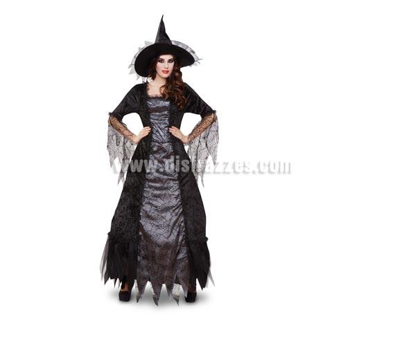 Disfraz Bruja Araña lujo para mujer talla M-L
