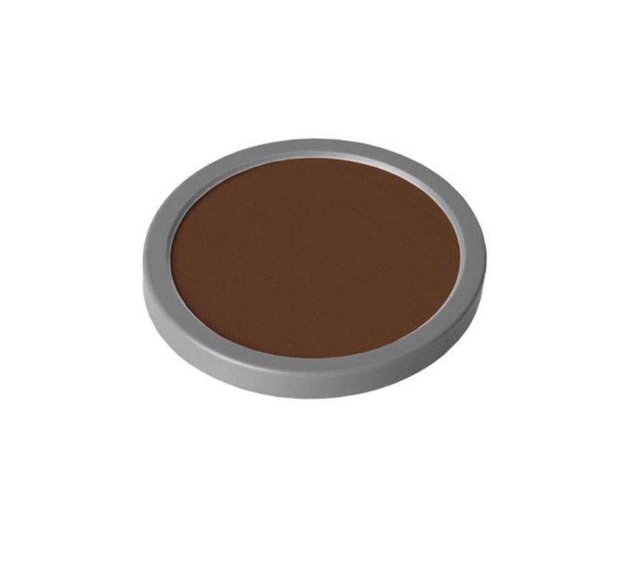 Maquillaje de cake (Cake Make-up D8), de 35 gr, para piel oscura. Es un maquillaje que da un efecto mate. Se usa como maquillaje cosmético para televisión, películas y fotografía y además se utiliza para teatro tanto en gran escala como pequeña. Cake Make-up es ideal para maquillar grandes áreas del cuerpo y también se puede utilizar como base para pintar, en combinación con el Water Make-up (maquillaje al agua), ya sea Pure o Flourescent.