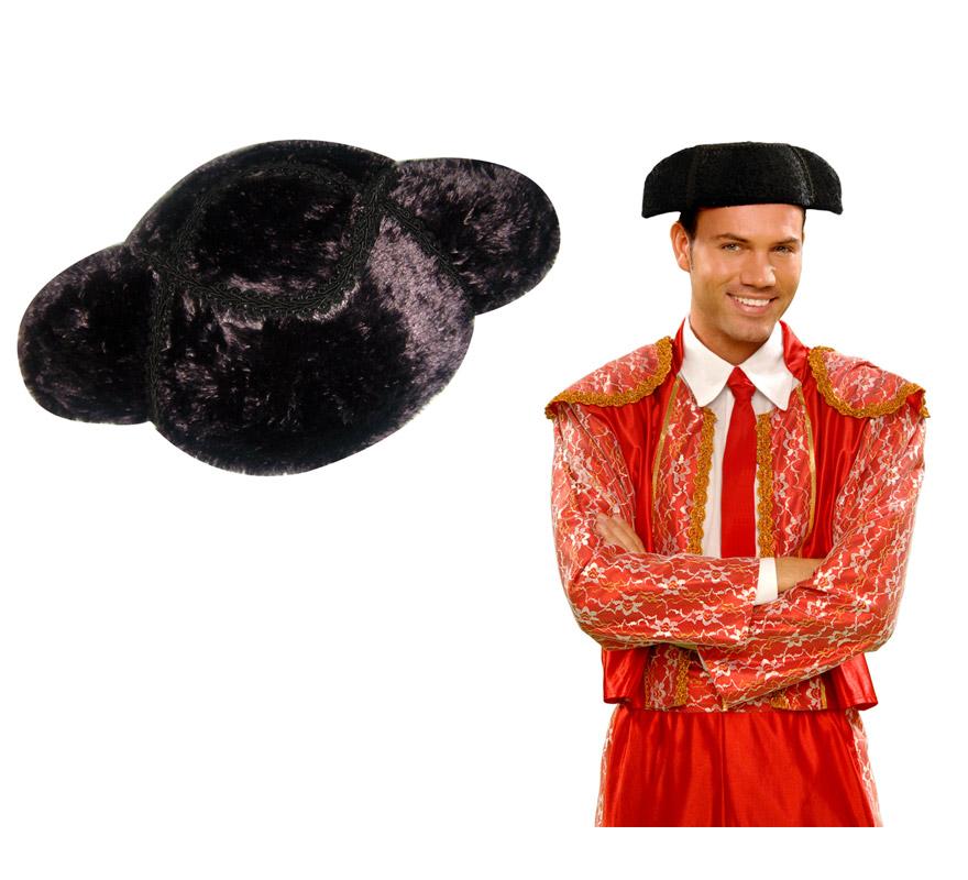 Montera de Torero de lujo para adulto. El complemento ideal para tu disfraz de Torero.