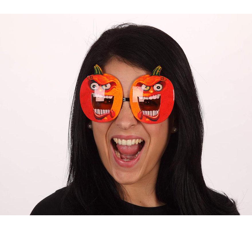 Gafas de Calabazas Siniestras para Halloween.