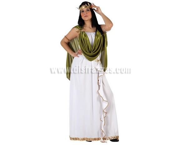 Disfraz de Emperatriz Griega para mujer. Talla 2 ó talla standar M-L = 38/42. Incluye disfraz completo. Ideal para disfrazarte de Romana.