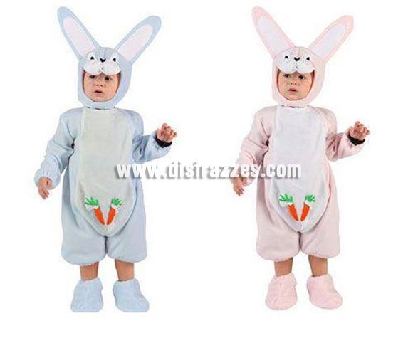 Disfraz de Conejo para bebés de 6 a 12 meses. Incluye traje completo. Dos modelos surtidos, precio por unidad, se venden por separado.