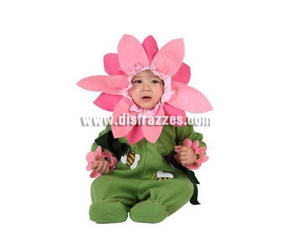 Disfraz de Flor para bebés de 0 a 6 meses. Incluye traje completo.