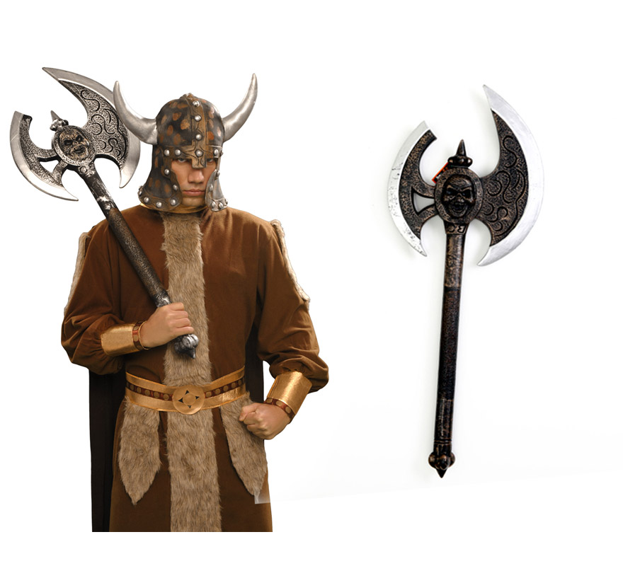 Gran Hacha de Vikingo o Bárbaro 89 cm.