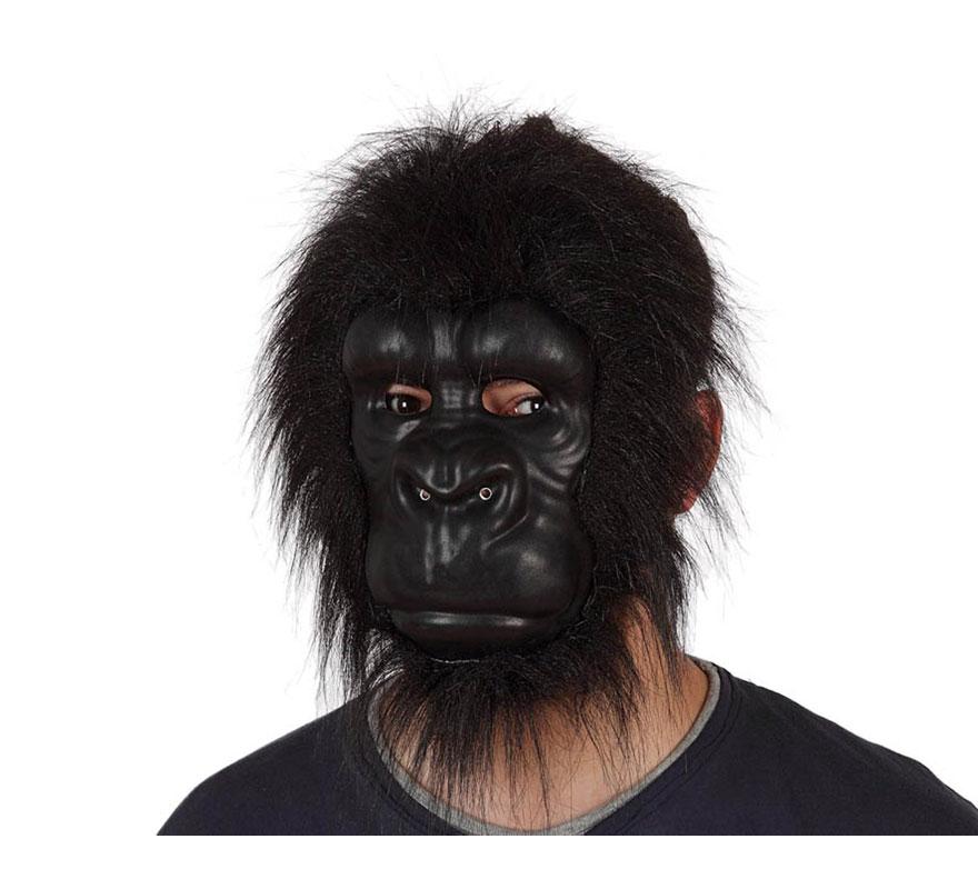 Máscara de Gorila de EVA con pelo.