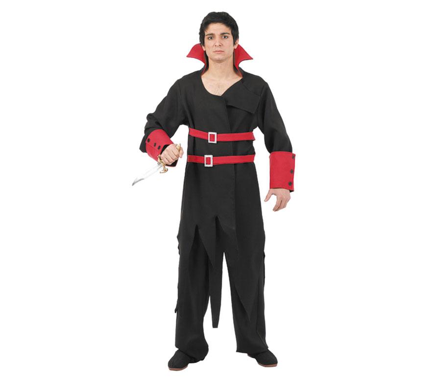 Disfraz de Justiciero hombre para la noche de Halloween. Varias tallas. Incluye chaquetón y pantalón.