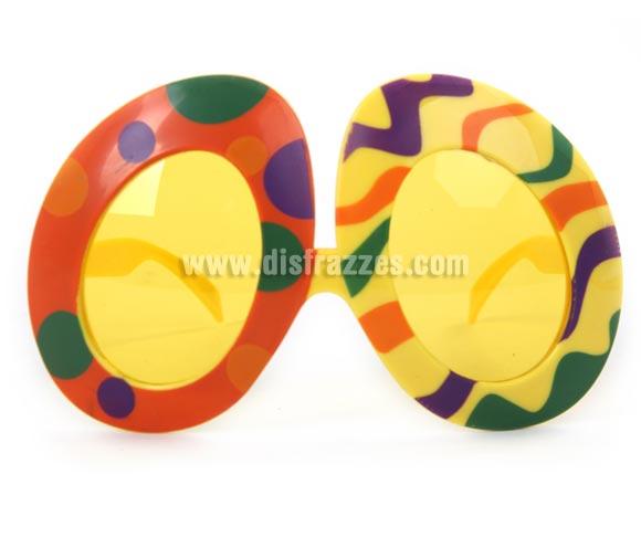 Gafas redondas de Hippie Coloridas.