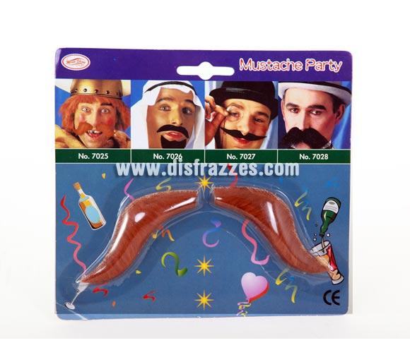 Blister bigote de Vikingo. Ideal como complemento de los disfraces de Astérix y Obélix.