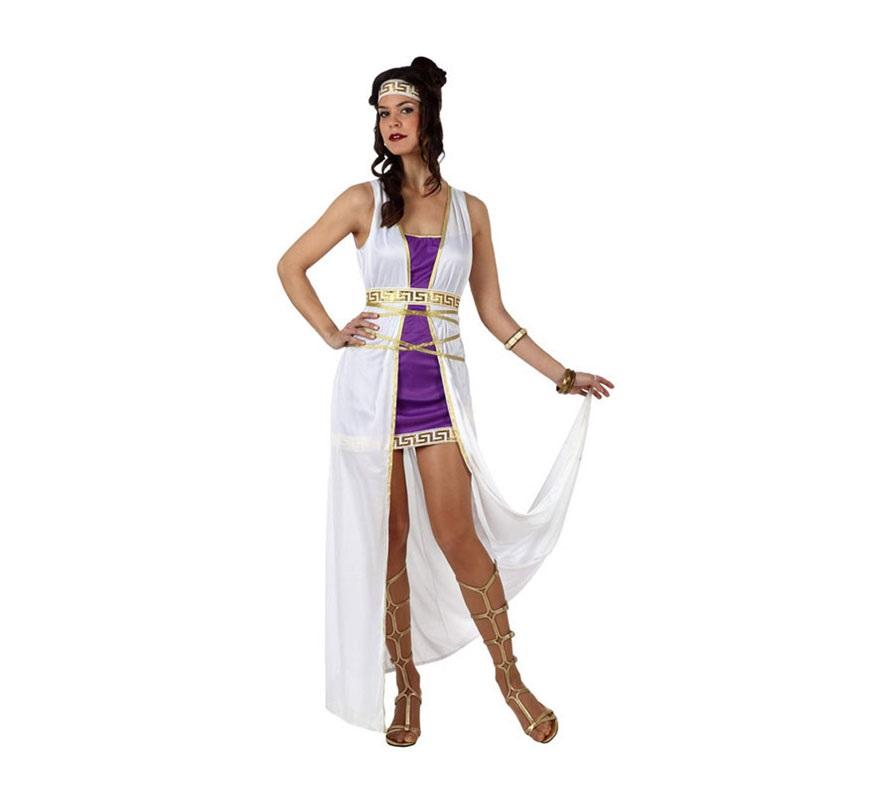 Disfraz de Romana para mujeres. Talla 2 ó talla Standar M-L 38/42. Incluye disfraz completo sin zapatos o sandalias.