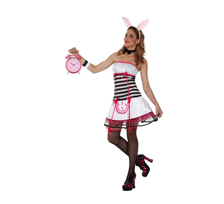 Disfraz barato de Conejita Sexy para mujeres talla M-L