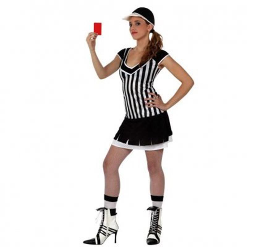Disfraz de Chica Árbitro de Beisbol para mujer. Talla 2 ó talla Standar M-L 38/42. Incluye gorra y vestido.