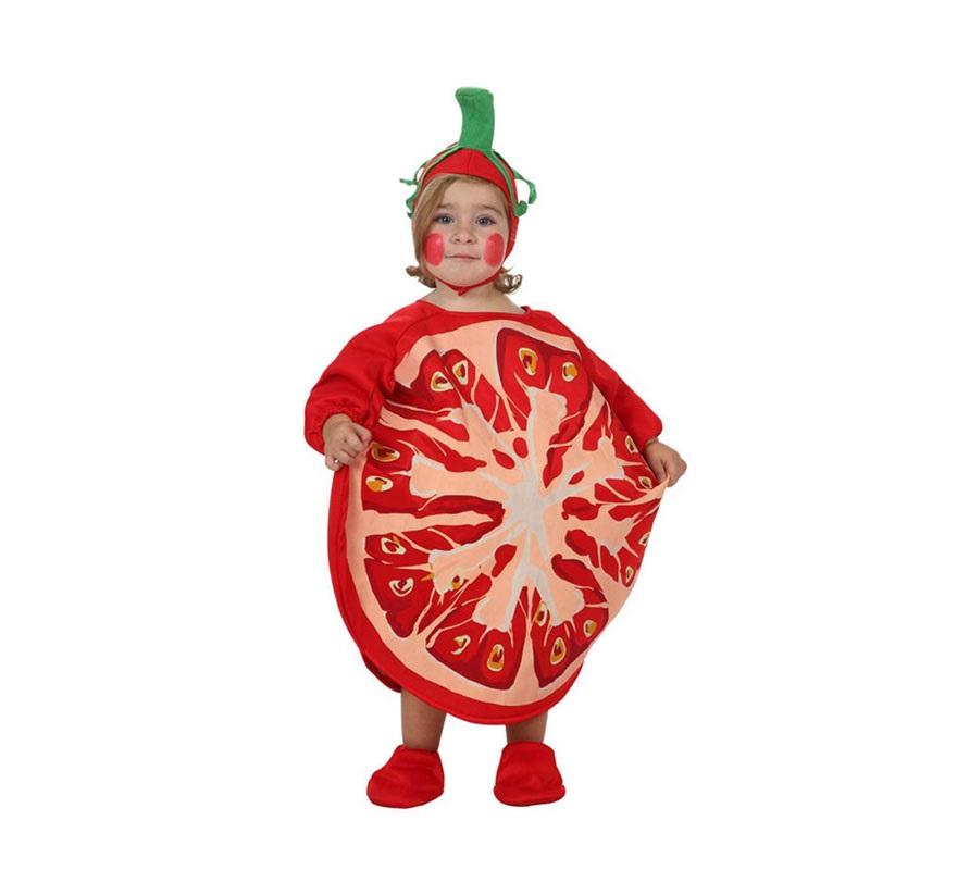 Disfraz barato de Tomate para bebé de 6 a 12 meses