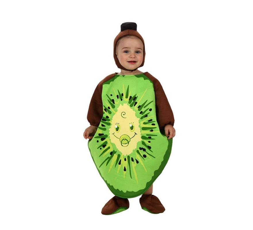 Disfraz de Kiwi para bebé de 12 a 24 meses. Incluye gorro, disfraz de Kiwi y cubrepies.