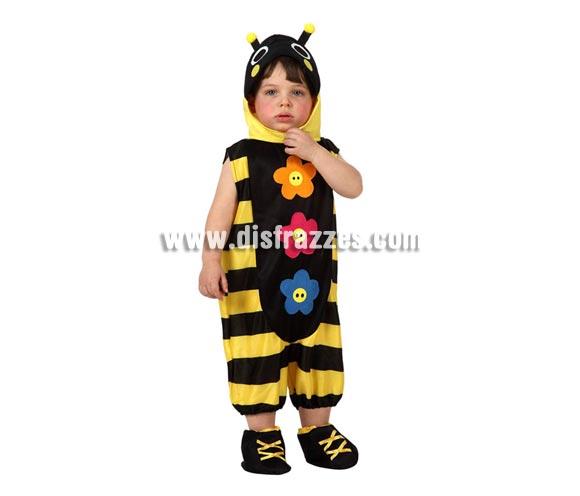 Disfraz de Abejita o Abeja para bebés talla 12 a 24 meses. Incluye disfraz completo.