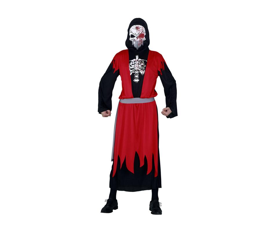 Disfraz barato de la Muerte para hombre talla M-L