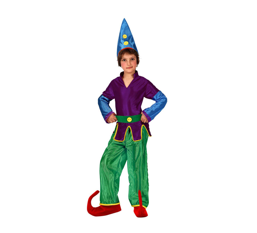 Disfraz barato de Duendecillo para niños de 10 a 12 años