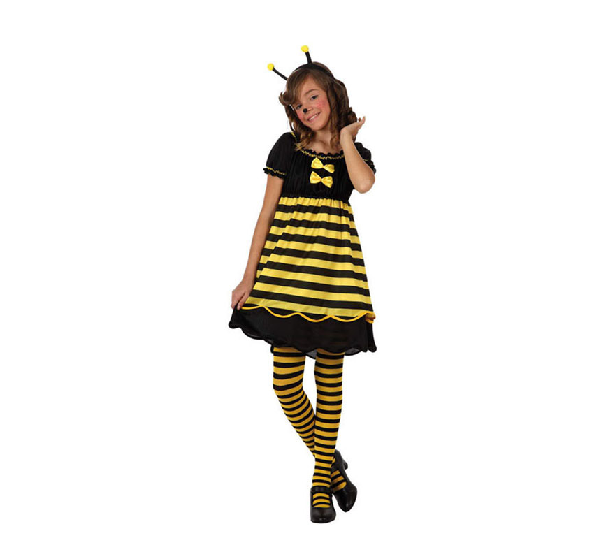 Disfraz barato de Abeja para niñas de 3 a 4 años