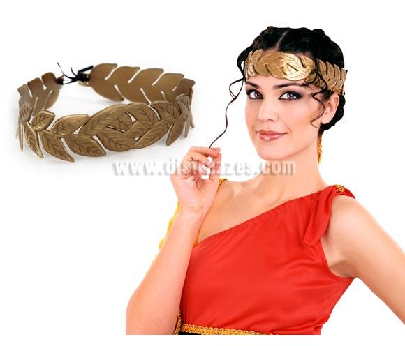 Corona de Laurel del César de PVC de 57x7 cm. para Carnavales. Ideal como complemento de tu disfraz de Romano o de César.
