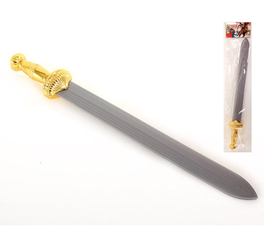 Espada Romana de plástico de 63 cm. Espada de Centurión.