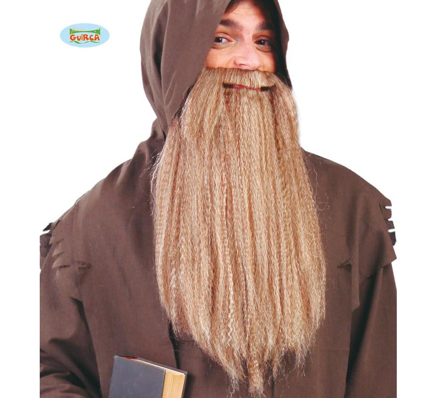 Barba Rubia larga de Mendigo. También sirve para Vikingo o Bárbaro.