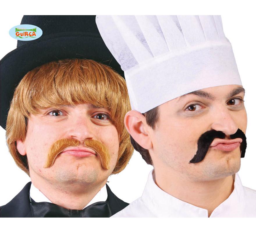 Bigote de Cocinero 2 colores surtidos. Precio por unidad, se venden por separado.