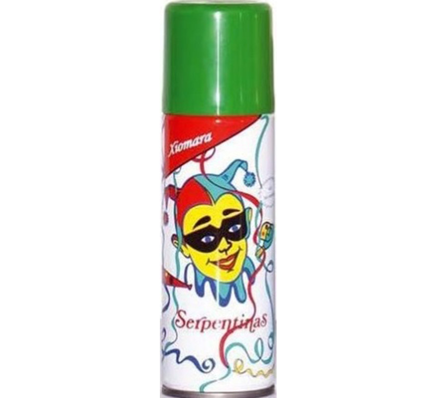 Spray Serpentina de color Verde.