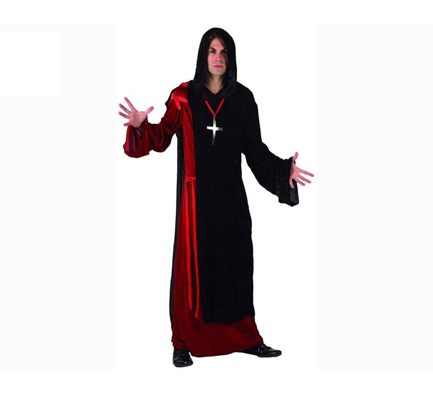Disfraz de Monje Siniestro para hombre. Talla XL 54/58. Incluye disfraz como la imagen.