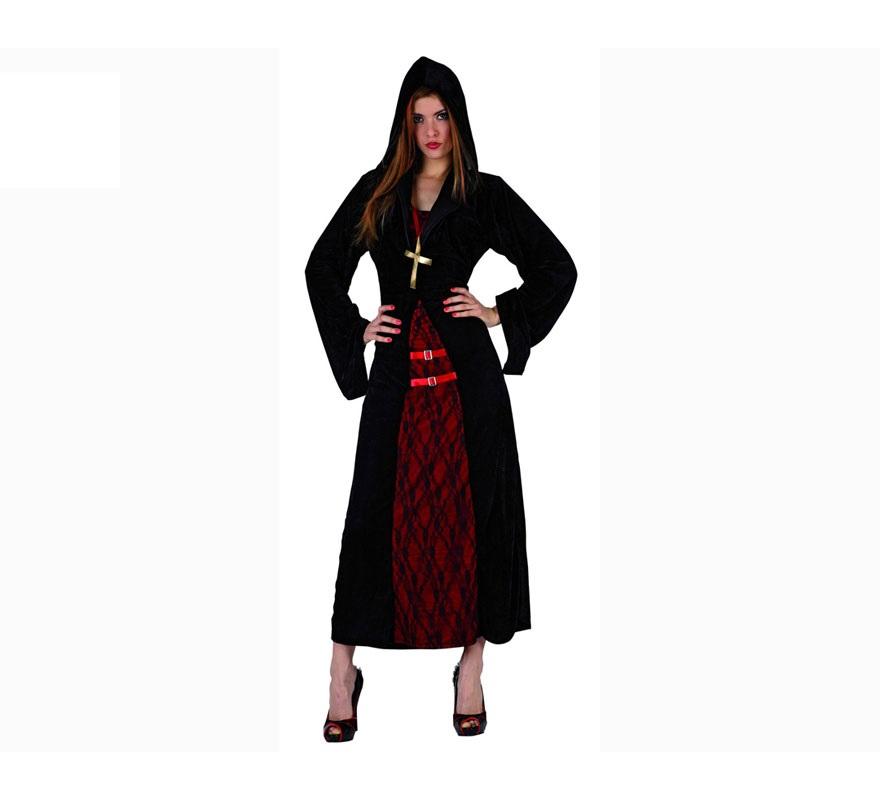 Disfraz barato de Monja Siniestra para mujer talla XL
