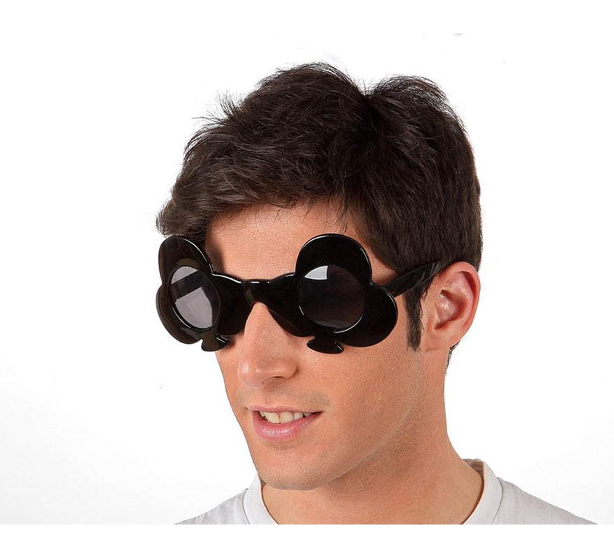 Gafas de Sol de Tréboles negras.