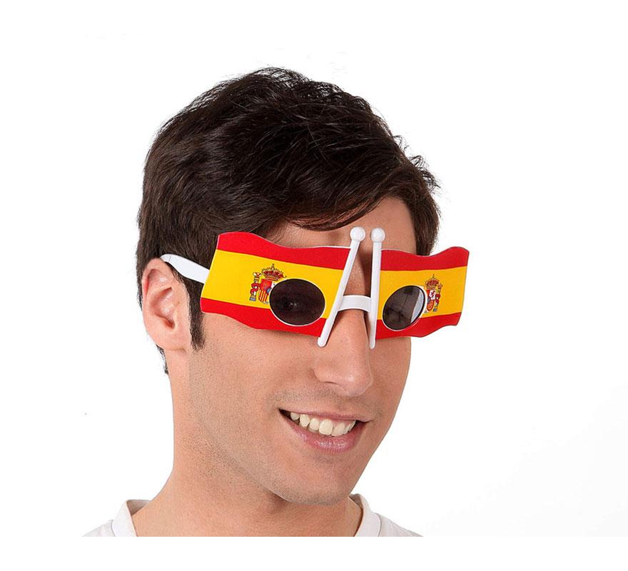Gafas en forma de Bandera de España.