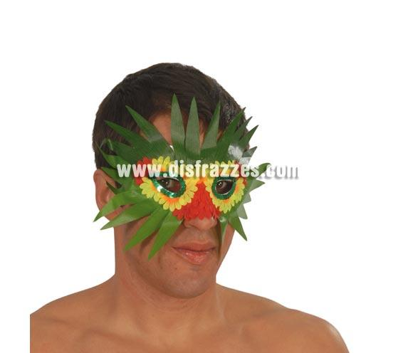 Antifaz Hawaiano de hojas