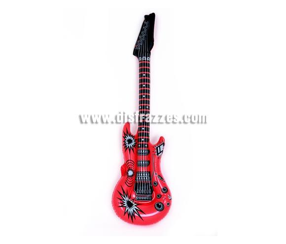 Guitarra eléctrica rockera hinchable 100 cm.